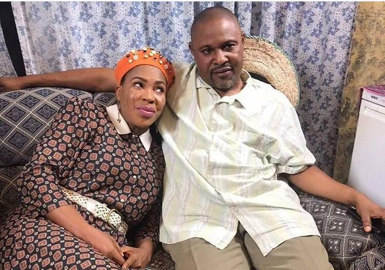 Fathia Williams and ex-husband Saheed Balogun