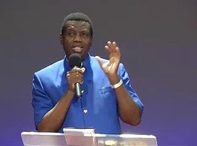 Pastor Enoch Adeboye, General Overseer of the Redeemed Christian Church of God (RCCG)