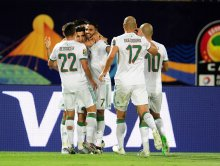 Riyad Mahrez leads Algeria to Quarter-final