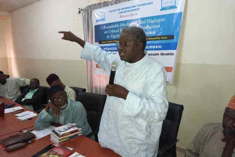 The professor of English from the Bayero University Kano (BUK), Ibrahim Bello-Kano