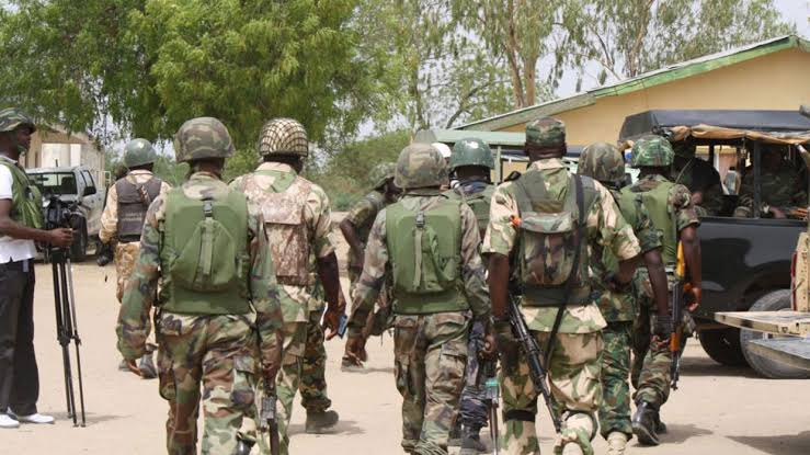Nigerian Soldiers. Photo: Premium Times Nigeria