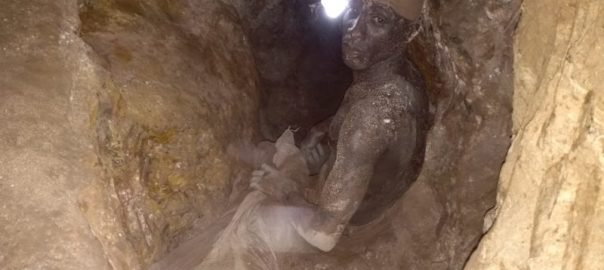 A miner in Dan Marke