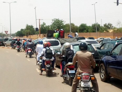 A street in Niamey