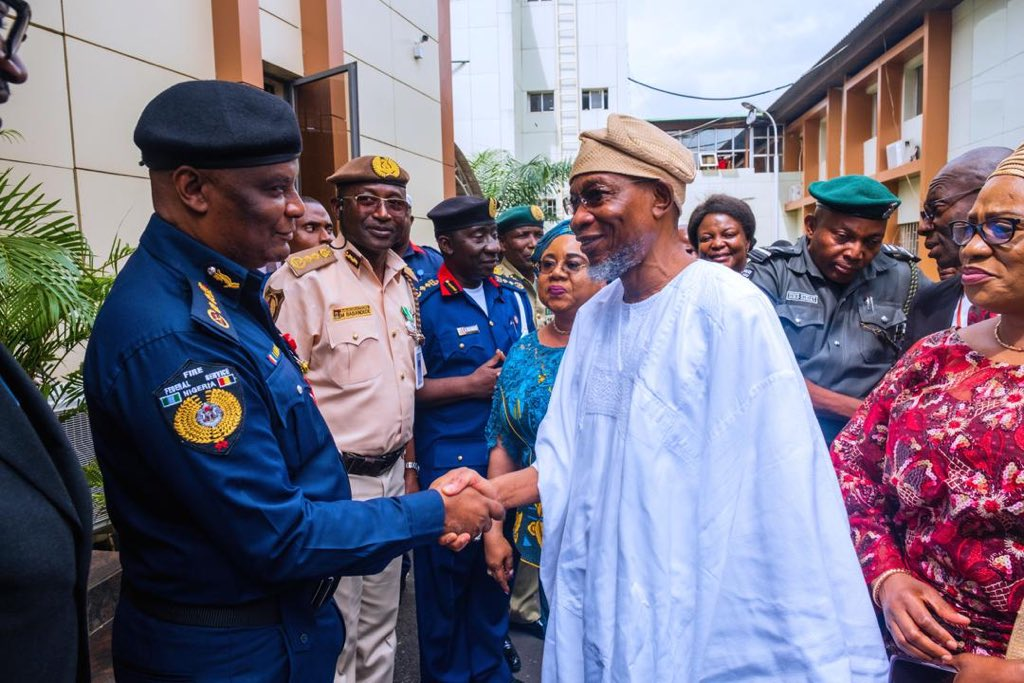 The Minister of Interior, Mr Rauf Aregbesola, has called on Management and Staff of the Ministry to remain focused and develop personal value for excellence and efficient service delivery, particularly in realizing the Ministry's mandate. The Minister gave the advise in a statement on Monday in Abuja when he inaugurated the 2020 Staff Training Exercise […]
