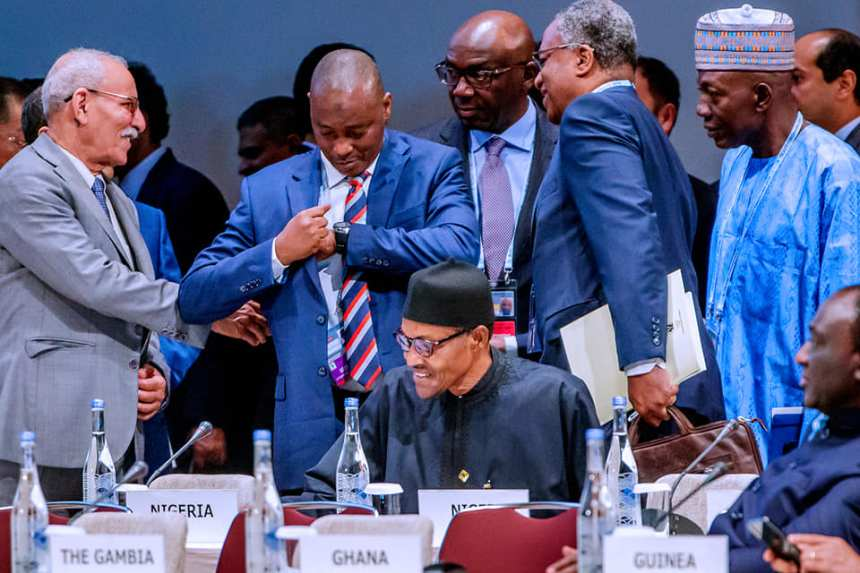 President Buhari participates at the Plenary Session 3 and delivers Statement at the 7th Tokyo International Conference on African Development in Yokohama Japan on 29th Aug 2019