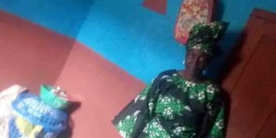 #RevolutionNow: Sariyu Akanmu, 70-year-old fufu seller, who was brutalised in Osogbo, Osun State.