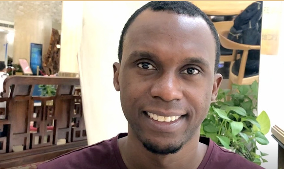 Zakaria Migeto, a Doctoral student from Tanzania, studies Sociology and International Development in Beijing, China.