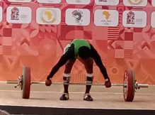 Folashade Rafiatu Lawal the Nigerian weightlifter sets new record at African Games