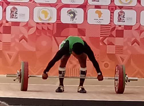 Folashade Rafiatu Lawal the Nigerian weightlifter sets new record at African Games