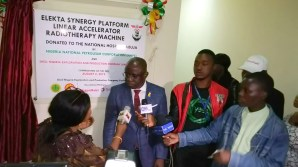 Shell, NNPC donate new cancer treatment machine to National Hospital