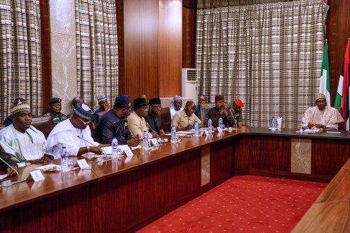 Buhari and APC National Working Committee