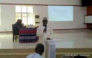 Executive Secretary of National Health Insurance Scheme (NHIS), Mohammed Sambo