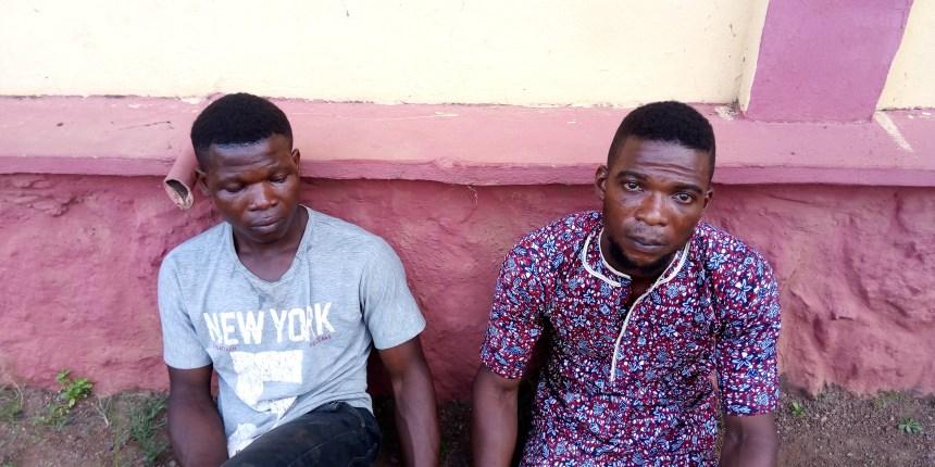 Lekan Odusote (27) and Monday John (22)