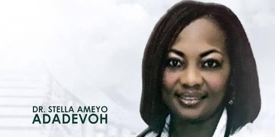 Late Stella Ameyo Adadevoh. [PHOTO CREDIT: Twitter]