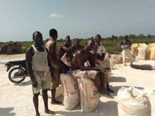 Miners in Tsani, Kankara