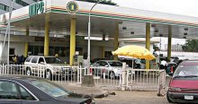 NNPC petrol station used to tell the story.
