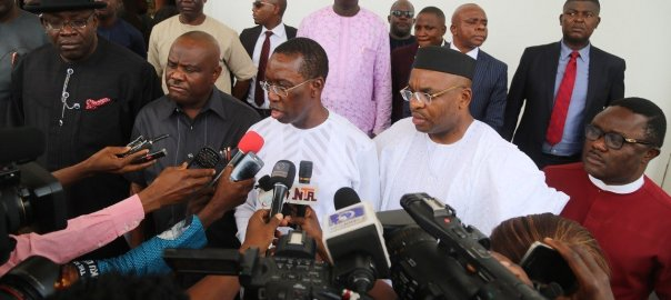 South-South Governors used to tell the story. [PHOTO CREDIT: Daily Post]