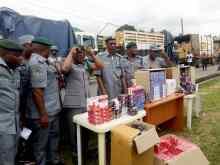 Customs raids Lagos warehouse, seizes codeine, tramadol