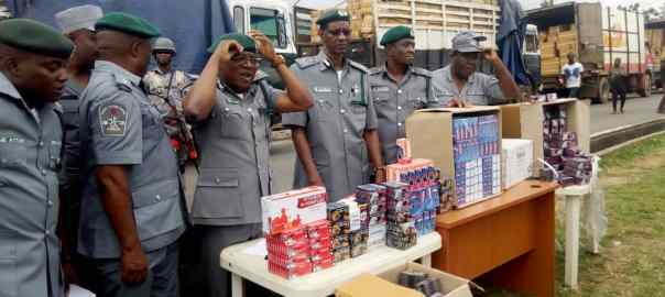 Customs raids Lagos warehouse, seizes codeine, tramadol