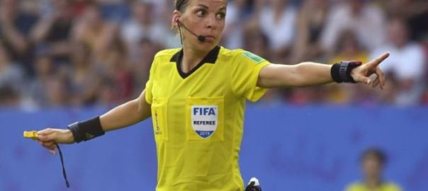 Stephanie-Frappart, first UEFA female referee