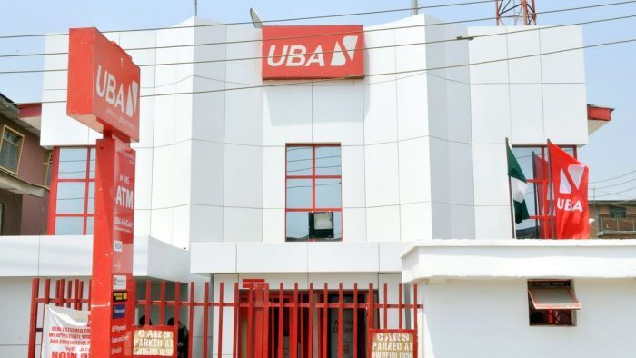 A UBA Plc bank used to illustrate the story