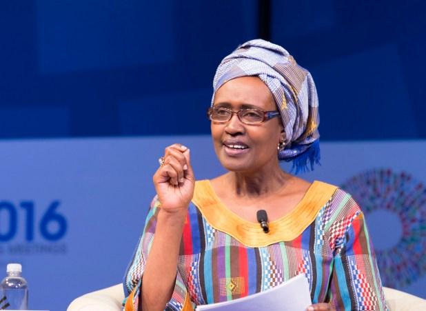 Image result for Winnie Byanyima