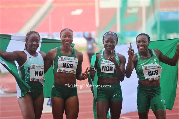 2019 African Games: Women's Relay Team