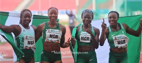 2019 African Games: Women's Relay Team