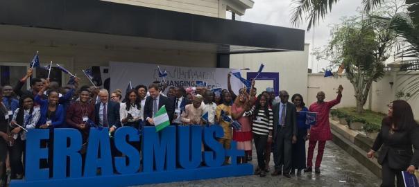 New awardees and alumni of the Erasmus + scholarship