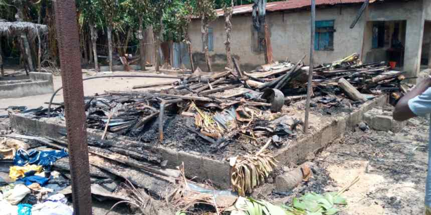 Remains of Lagos inferno