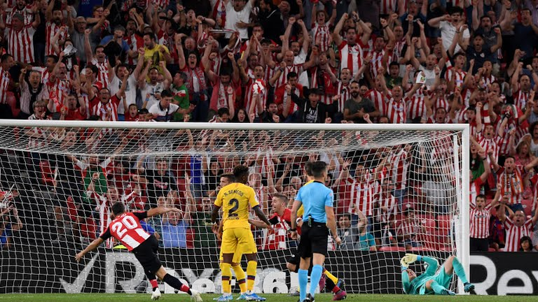 Athletic Bilbao wins against Barcelona (Photo Credit: Reuters on Google)