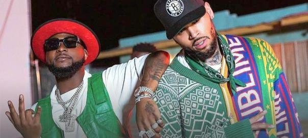 Davido and Chris Brown Photo Instagram