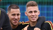 Eden Hazard and Brother. [PHOTO CREDIT: GOAL.com]