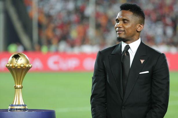 African footballer, Samuel Eto
