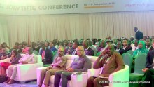 cross section of dignitaries and participants at the conference