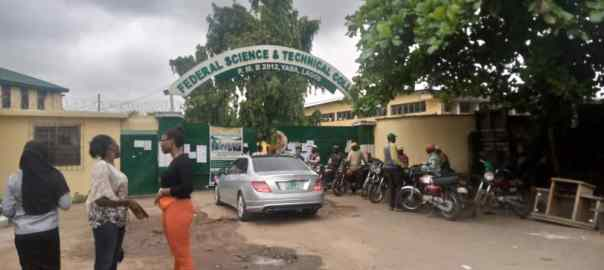 Pictures of Federal Science & Technical College, Yaba.