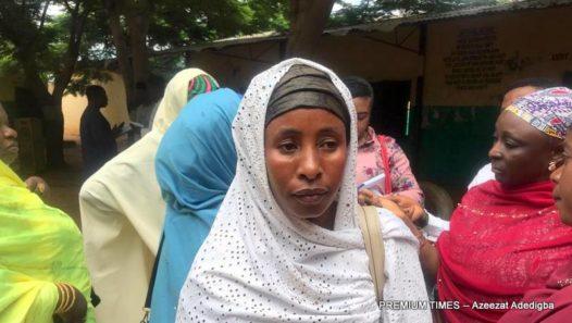 Coordinator, Mother's Association, Umma Abubakar.
