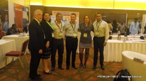 L-R: Hugo Cuevas-Mohr; President and CEO of Mohr World Consulting, Paulina Randmets; IMTC's General Manager, Rafael Ubilla; Regional Director, More Money Transfers, Eugenio Nigro; VP, Business Development at Remitly, Zory Munoz; IMTC advisory board member and Global Field Complaince officer at Xoom/Paypal.