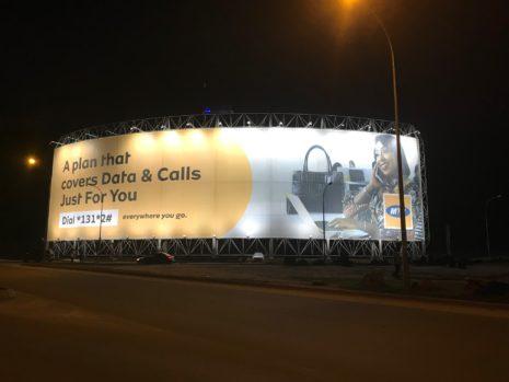 Lona Billboard before attack. Credits: Lona Group.