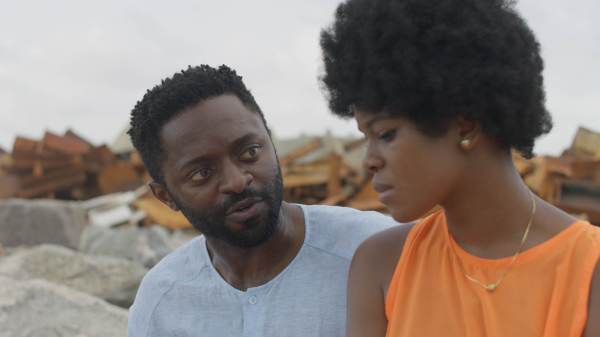 A scene in Funmi Iyanda's movie