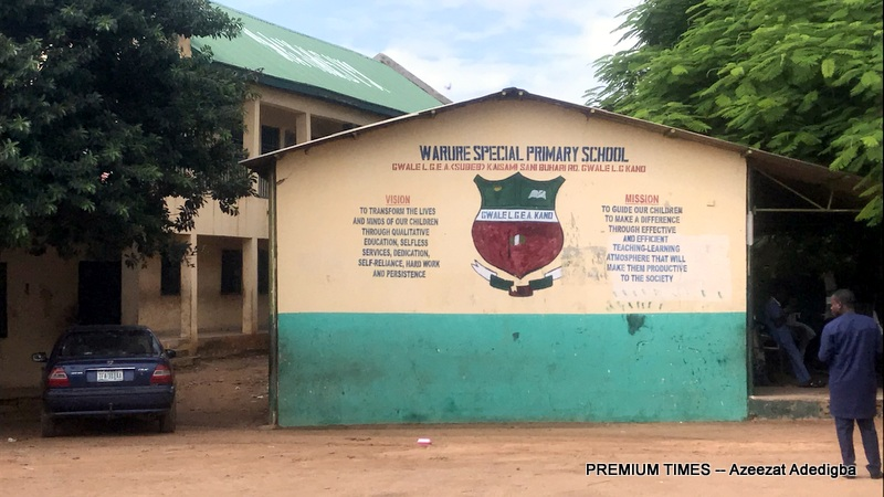 Warure special primary school, Kano State.