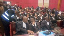 Lawyers present at the tribunal hearing in Abuja.