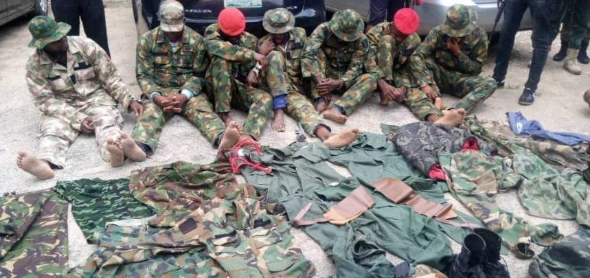 Dismissed soldiers