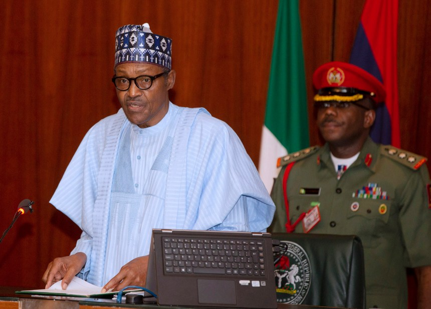 PRESIDENT BUHARI PRESIDES OVER MEDIAN FEC MEETING 1A&B. President Muhammadu Buhari during the Federal Executive Council (FEC) Meeting held at the Council Chambers, State House Abuja. PHOTO; SUNDAY AGHAEZE. SEPT 11 20192