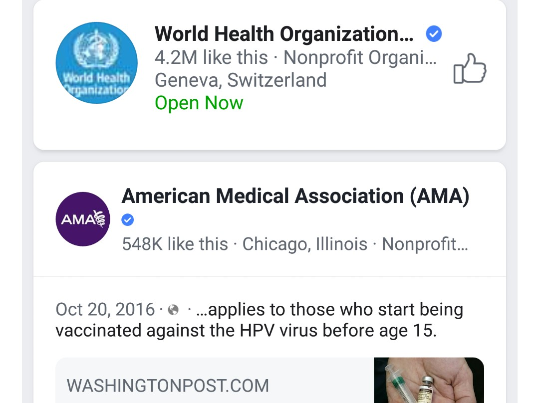 WHO and Facebook want to ensure people access only authoritative information on vaccines and reduce the spread of inaccuracies