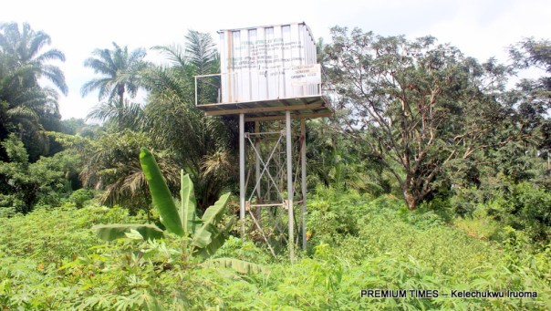 Unadu community borehole constructed, non-functional and abandoned