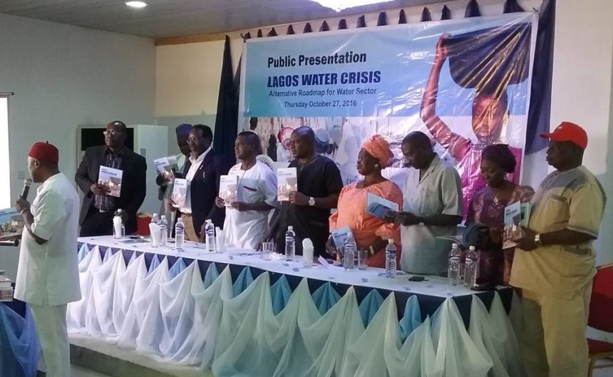 Activists insist Lagos State government has enough money to fund its water sector. [PHOTO CREDIT: Ben Ezeamalu]