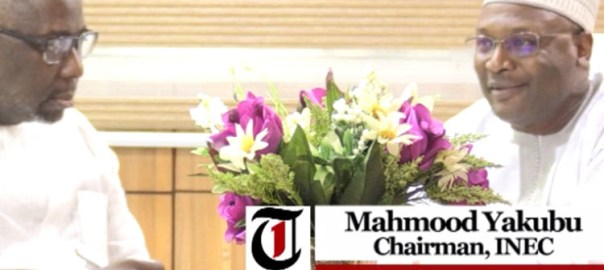 Mahmood Yakubu - INEC Chairman