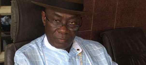 Former senator representing Bayelsa East Senatorial District, Nimi Amange