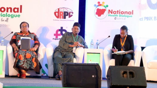 Mohammed Ube on the Panel